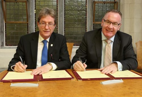 Galway City Council NUI Galway agree new development Initiatives