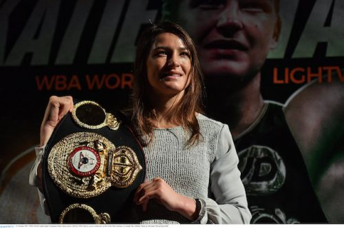 Katie Taylor WBA world title defence December London