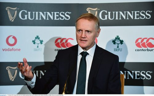 Joe Schmidt already eyeing 2019 World Cup