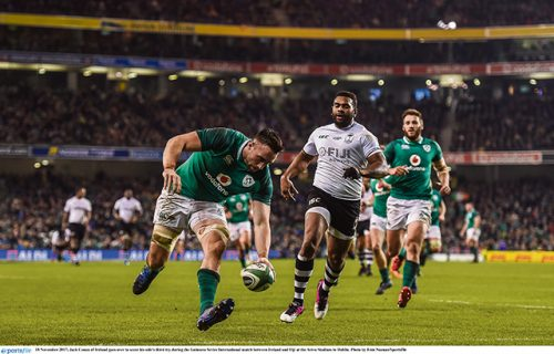 Ireland reserves secure narrow victory against Fiji