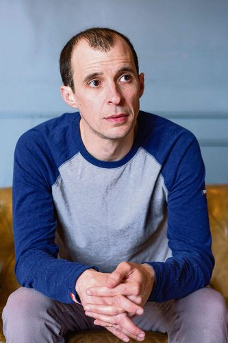 Nidge PJ Pinter Irish Actor Tom Vaughan Lawlor