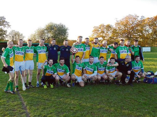 Wolfe Tones secure British hurling Shield success