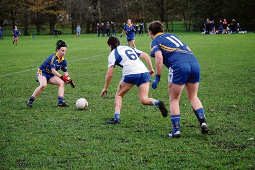 Heroic defeat John Mitchel's Ladies