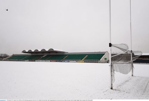 Fulham Irish greg McCartan Ruislip snow
