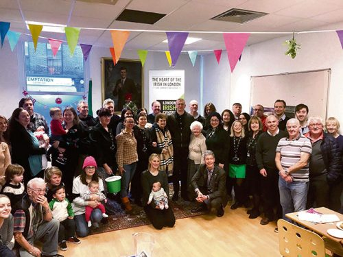 Damo lends support Christmas Appeal