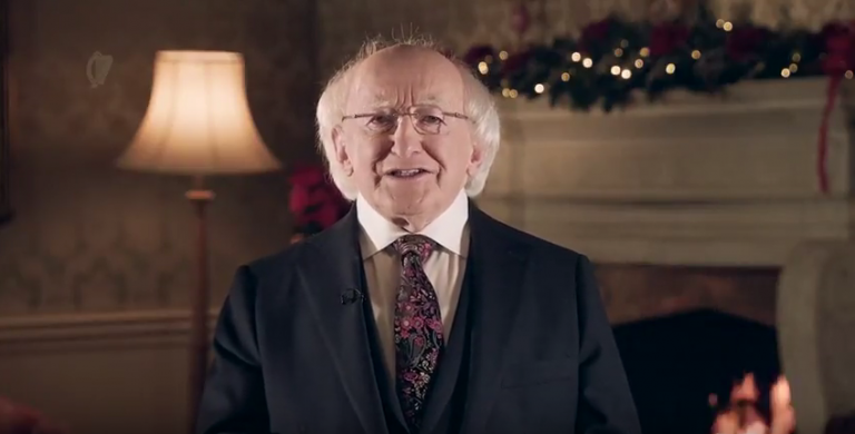 Irelands Presidents Christmas Message 2017