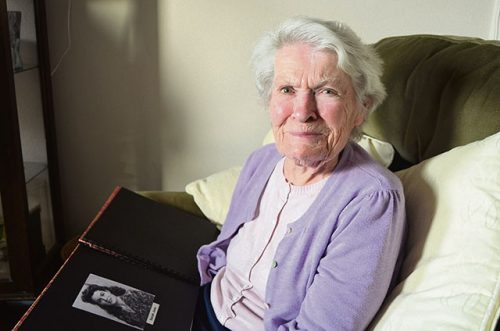 99 yr old Sarah Jane Hughes chats Gerry