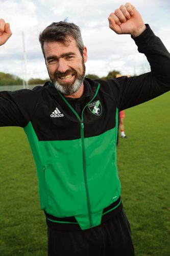 Fulham Irish boss McCartan can't resist history's call