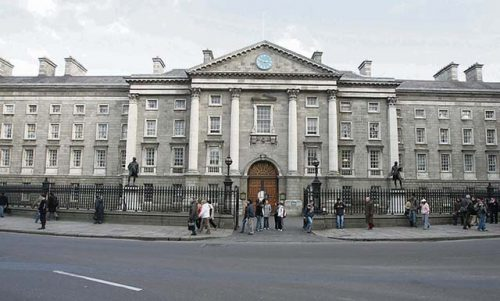 Trinity College opts gender neutral fresh