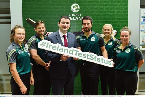 New Test beckons Irish cricket