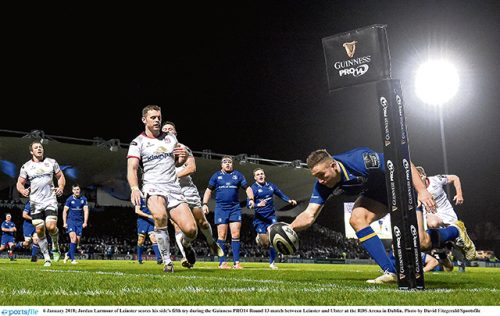 Imperious Leinster turn focus towards Europe