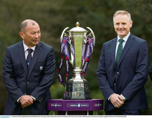 Ireland head coach Joe Schmidt staying focused