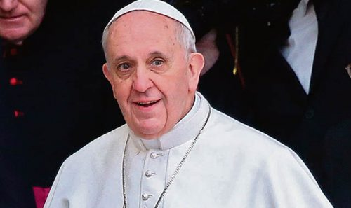 Pope gives State World address