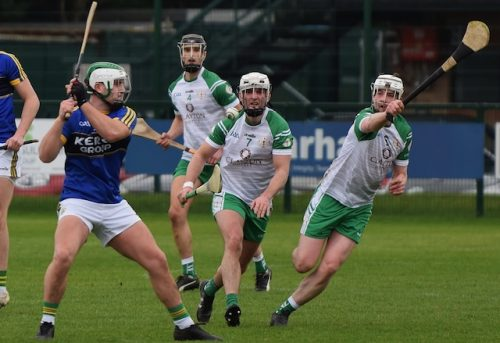 London hurling manager Fergus McMahon takes positives