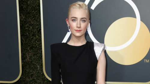 Saoirse Ronan wins 'Best Actress' for 'Lady Bird — GoldenGlobes