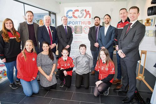 GAA massive project Glasgows Clydebank begins