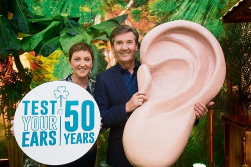 Daniel O Donnell Hidden Hearing campaign