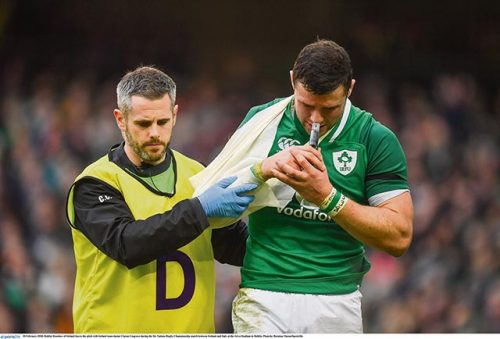 Ireland's emphatic win injury price