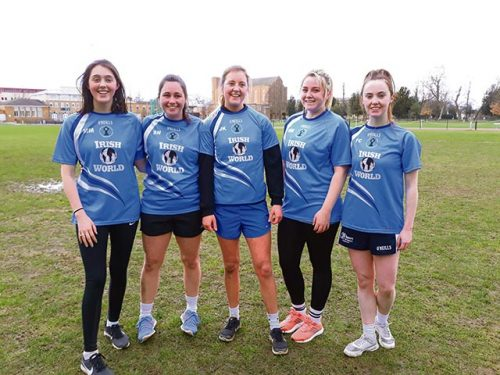 Irish World St Marys University Ladies Gaelic Team