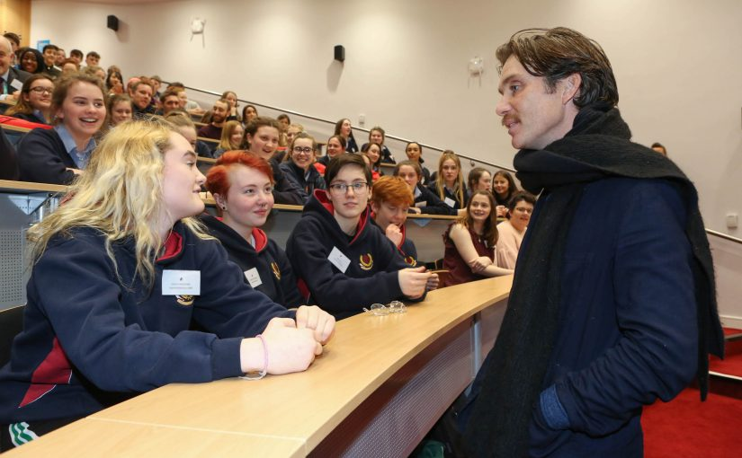 Actor Cillian Murphy Attends Youth Empathy Day NUI Galway