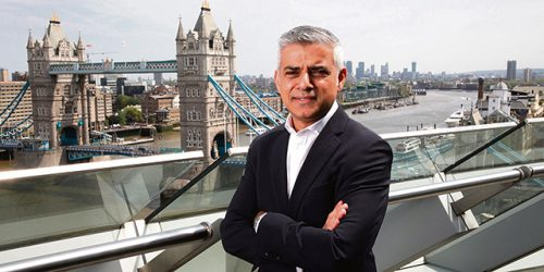 London Mayor Sadiq Khan St Patricks Festival all 33 Boroughs