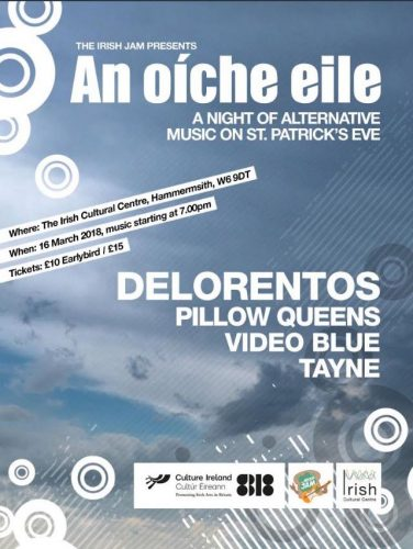 Delorentos lead Irish Jams alternative St Patricks Night