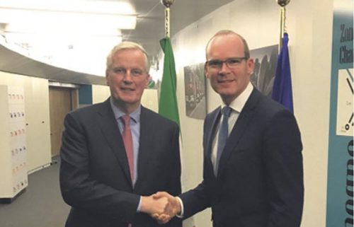 Coveney says Ireland happy EU legal text