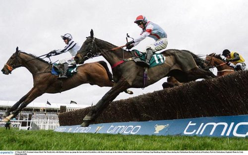 Under starter's orders Cheltenham Festival stage set