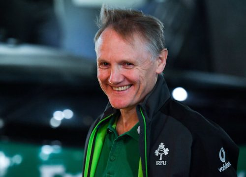 Immortality within reach Joe Schmidt's Ireland