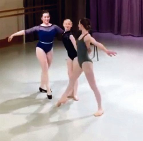 Alice lands ballet role after spinal surgery