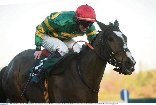 Aintree Grand National Martin Elliott tame Blaklion
