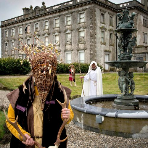Loftus Hall rekindles ancient pagan Bealtaine Festival Fire
