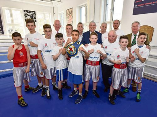 Boxing helps youths avoid gang culture
