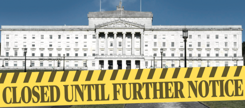 stormont closed until further notice