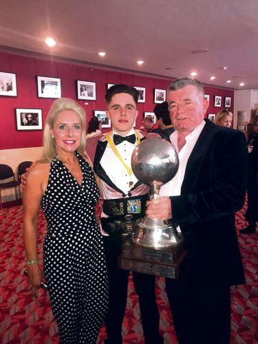 Londoner Joe tops All Ireland World win