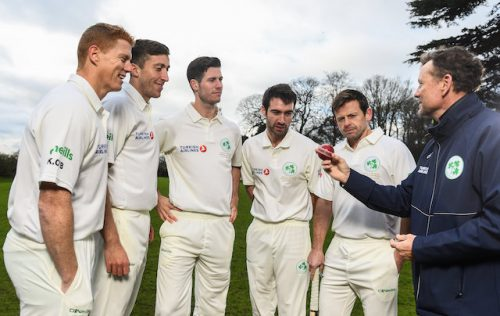 Irish crickets momentous maiden Test match