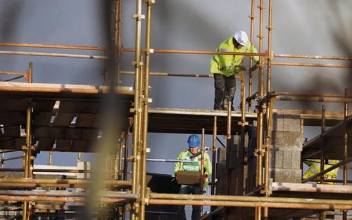 Irish tradesmen recalled housing crisis