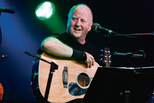 Christy Moore goes back vinyl On The Road