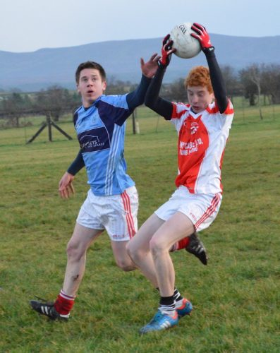 The Castleconnor brothers in opposing camps at McGovern Park - The