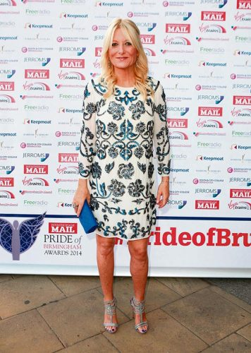 Celebrities Spring Action Gaby Roslin Siobhan Mather
