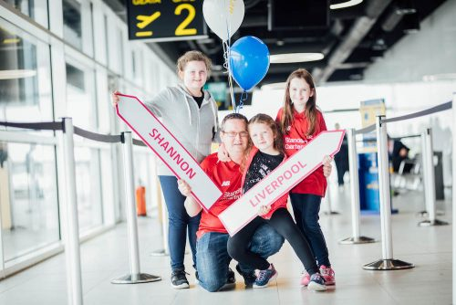 Liverpool Bristol takeoff new services launched Shannon