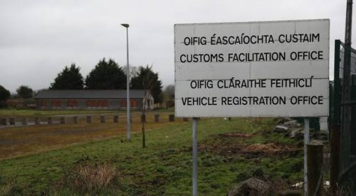 Apology British only customs officers Northern ireland