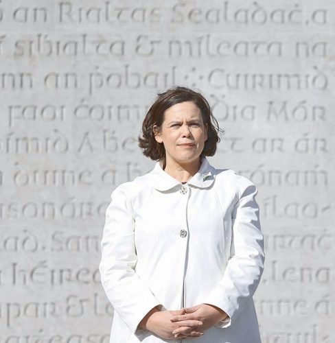 Mary Lou McDonald her party want repeal eighth