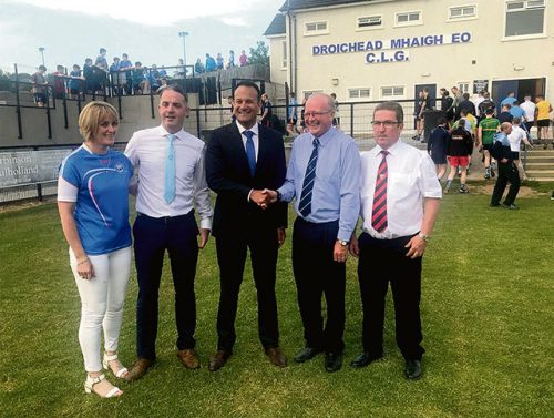 Leo Varadkar historic visit Orange Order Belfast