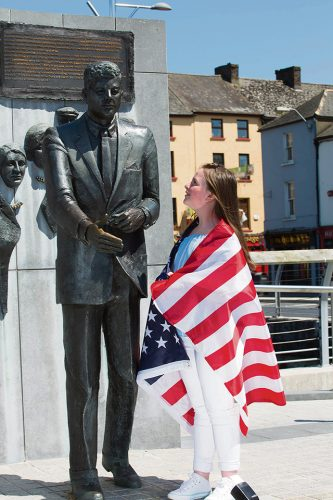 Daughter Bobby Kennedy visit Wexford conference
