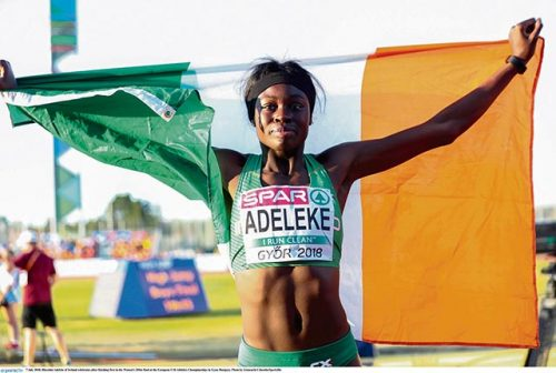 Adeleke heads Irelands Euro athletics golden girls