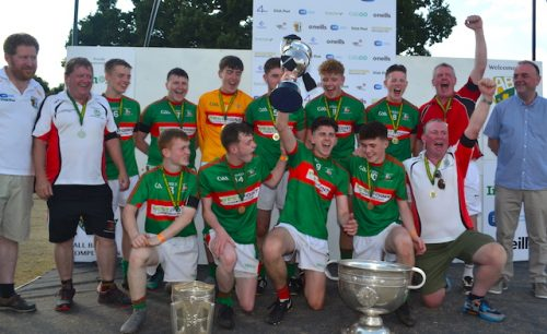 St Brendan's GAA club dedicates ABC win former mentor
