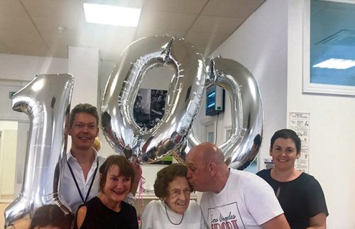 Galway World War two nurse celebrates 100th birthday