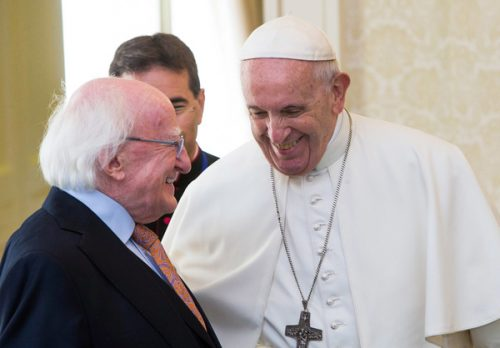 President tells Pope Irish anger abuse impunity