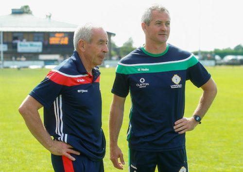 Ciaran Deely priming Owen Mulligan for London coaching role